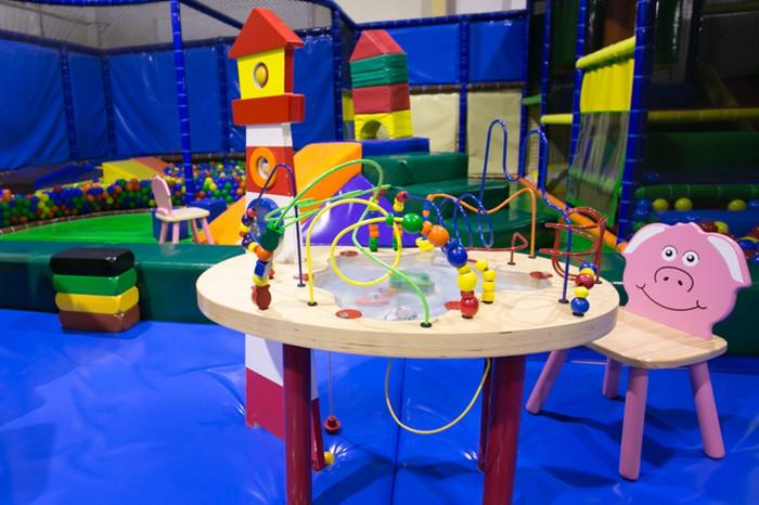Aire de jeux pour les petits